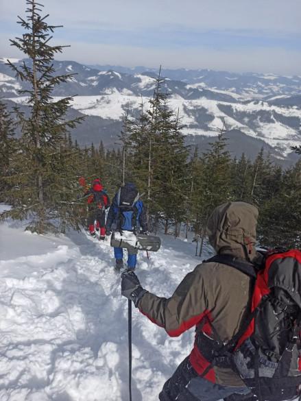 Рятувальники допомогли групі туристів у горах